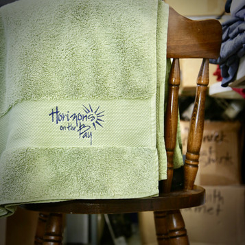 Horizons On The Bay Towel