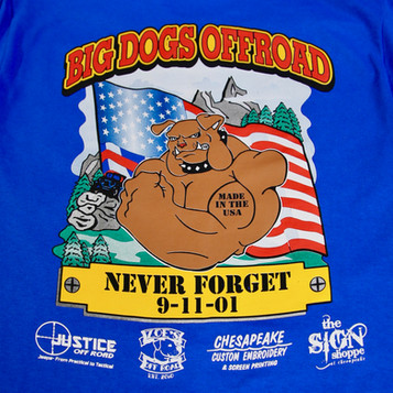 Big Dogs Offroad Full Back