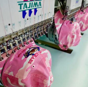 Pink Camo Hats