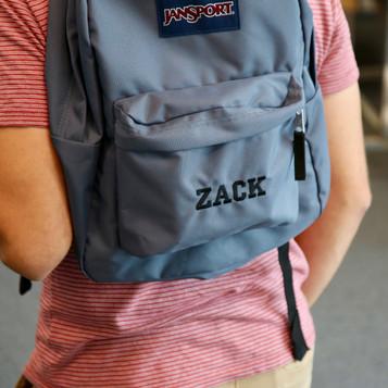 Custom Backpack for Zack