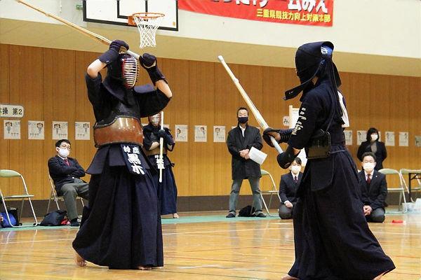 R2新人女子団体決勝戦(鈴鹿VS三重)①.JPG