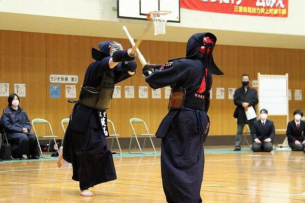 R2新人女子団体決勝戦(鈴鹿VS三重)②.JPG