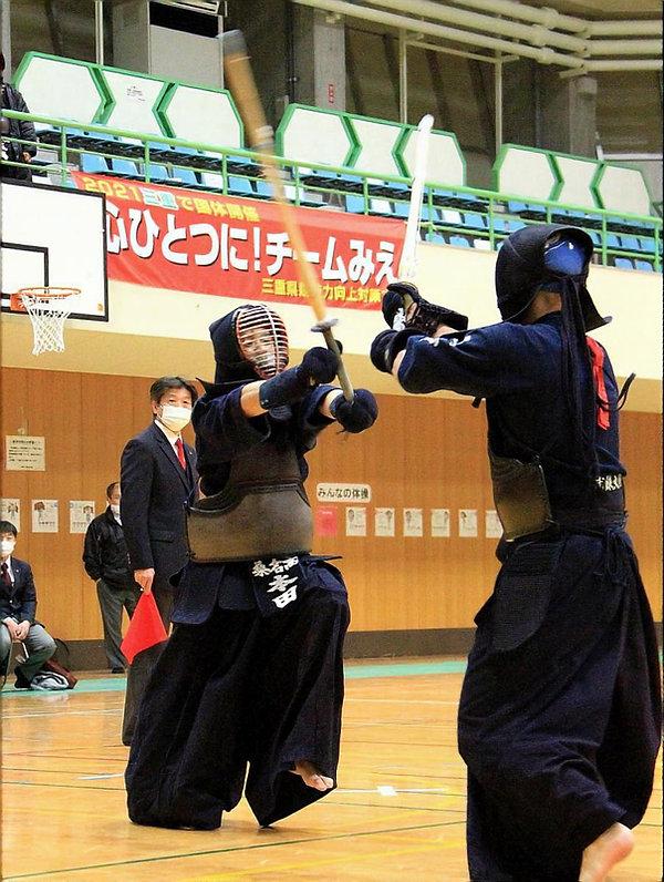 R2新人男子団体決勝戦(桑名VS三重)②.JPG