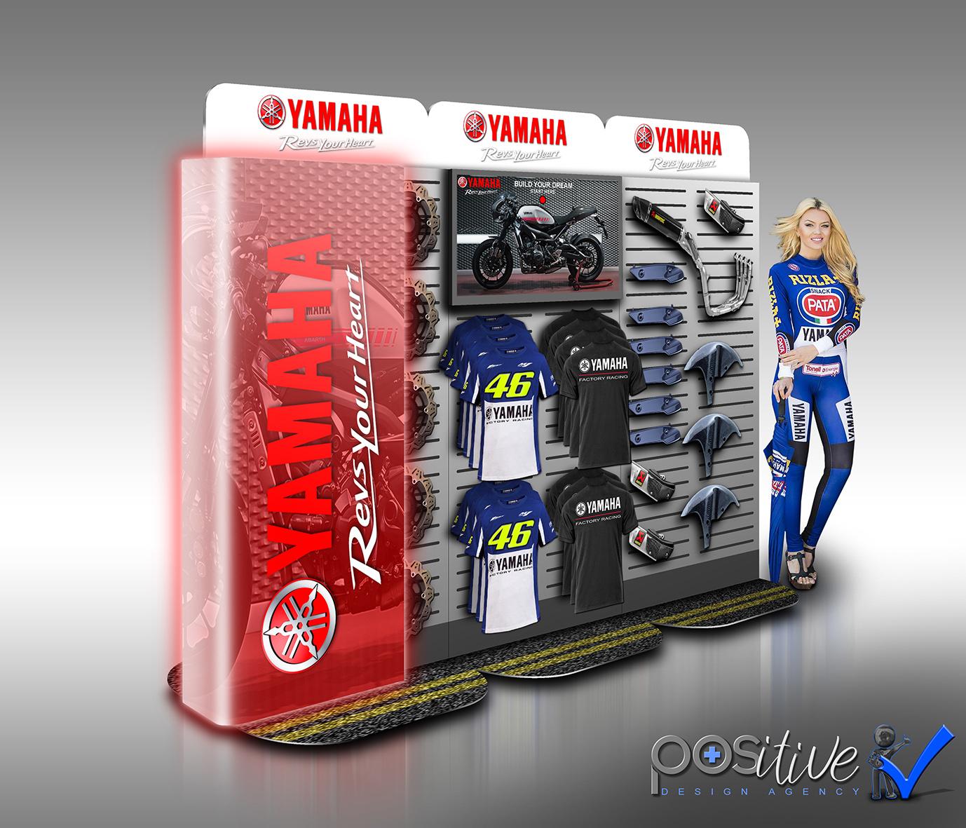 Yamaha Merchandising Station