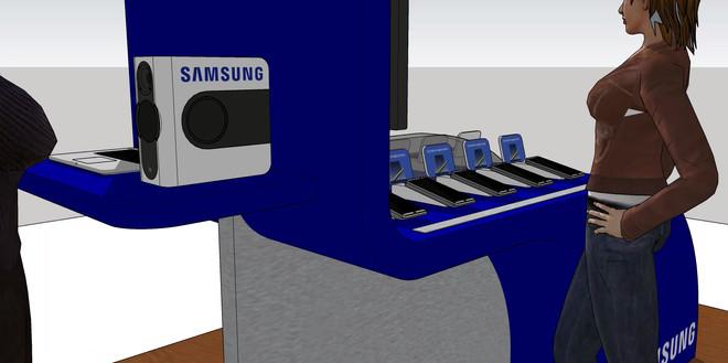 Samsung Floor Display