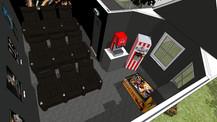 villa style home theatre