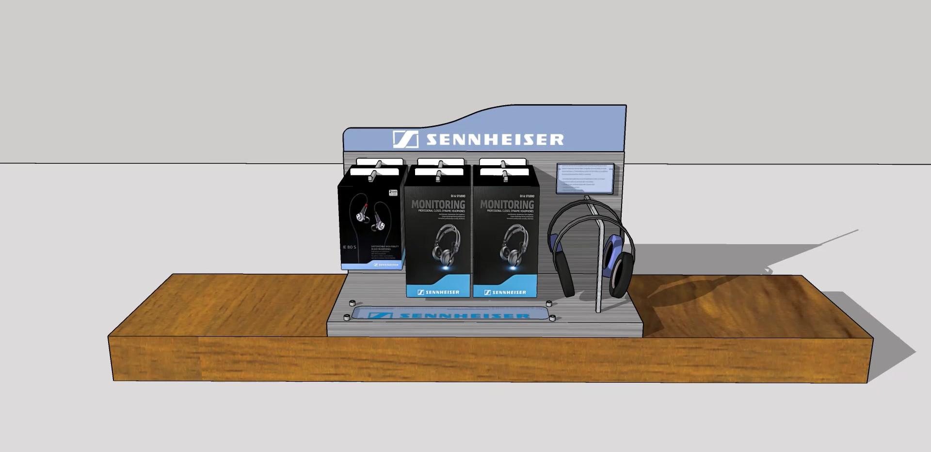 Senheiser Counter Display