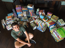 700 Books Donated
