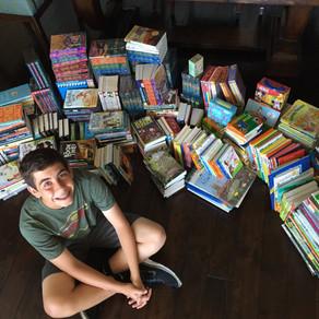 700 Books Donated