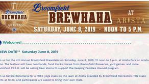 Saturday June 8th 12-5. Broomfield Brewhaha