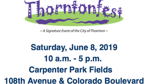 Saturday, June 8th! 10-12 am Thorntonfest