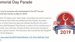 May 27th. 55th Annual Commerce City Memorial Day Parade