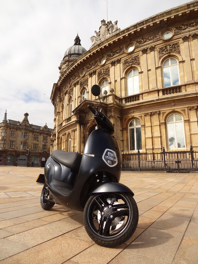 Electric scooter at Hull Maritme Museum