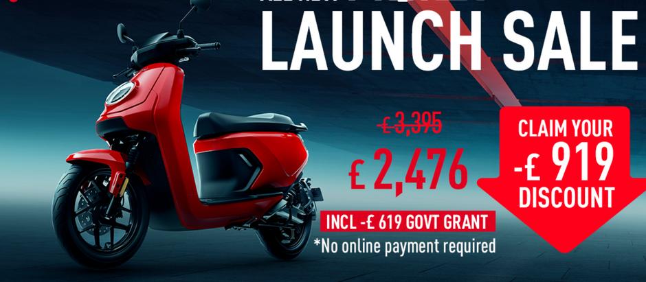 NIU MQi GT Launch Sale