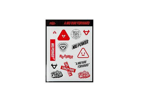 NIU Stickers