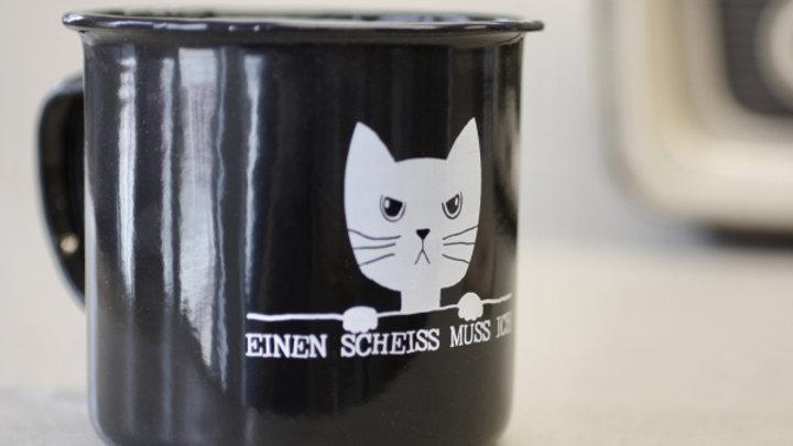 Ein scheiss muss ich - Enamel cup