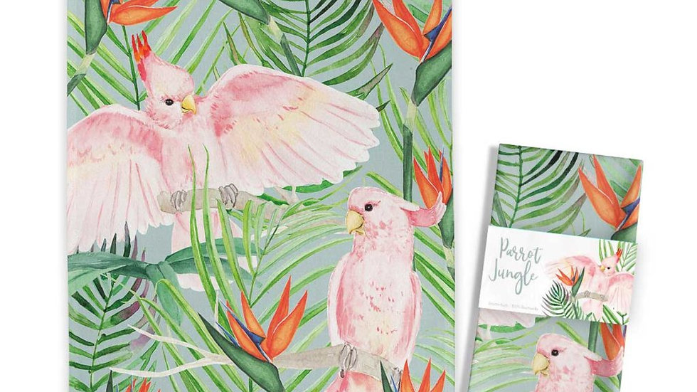 Kitchen Towel Tropic Parrots