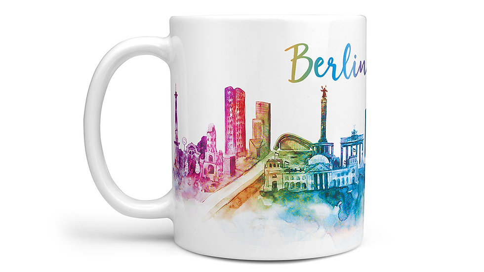 Rainbow Berlin Mug