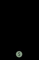 Black logo - no background - green dolla