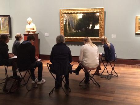 Die Kunst der Kunstbetrachtung