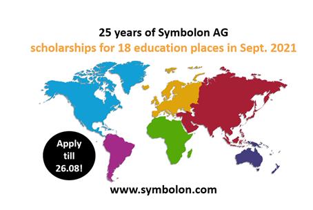 Stipendien für 18 Personen weltweit im September 2021
