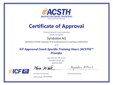 Symbolon AG & ICF – Coaching at the highest quality