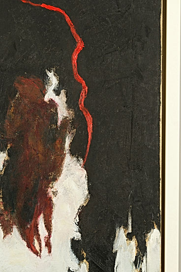Clyfford Still, painting treatment