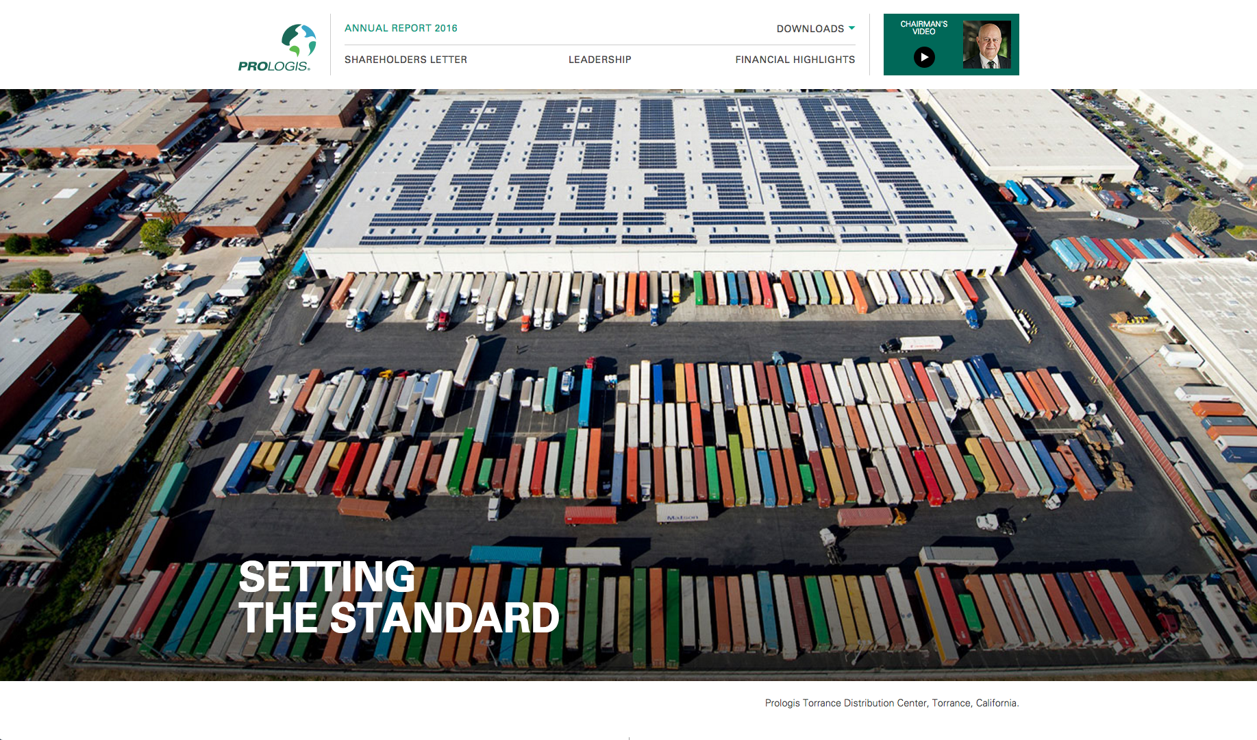 2016 Prologis Annual Report