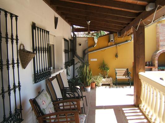 Mine house balcony
