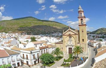Algodonales, white village