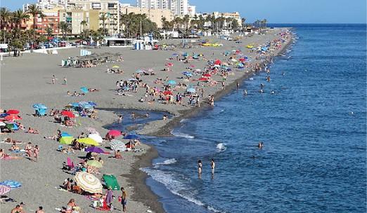 Playa de la Charca, Salobreña