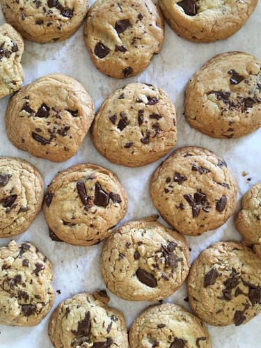 Brown butter chocolate chip cookies for the win