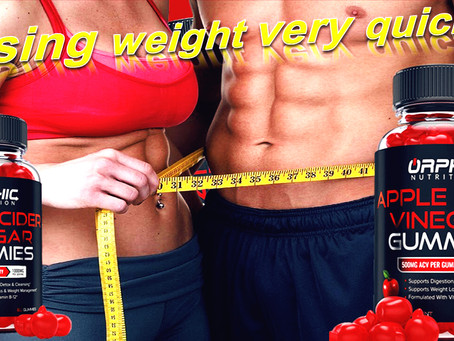 Do you want to lose weight fast Apple Cider Vinegar Gummies