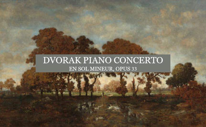 Ecoutez DVORAK Piano Concerto par  Edson Elias