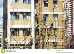 construcciones-de-bamb-del-andamio-52463750