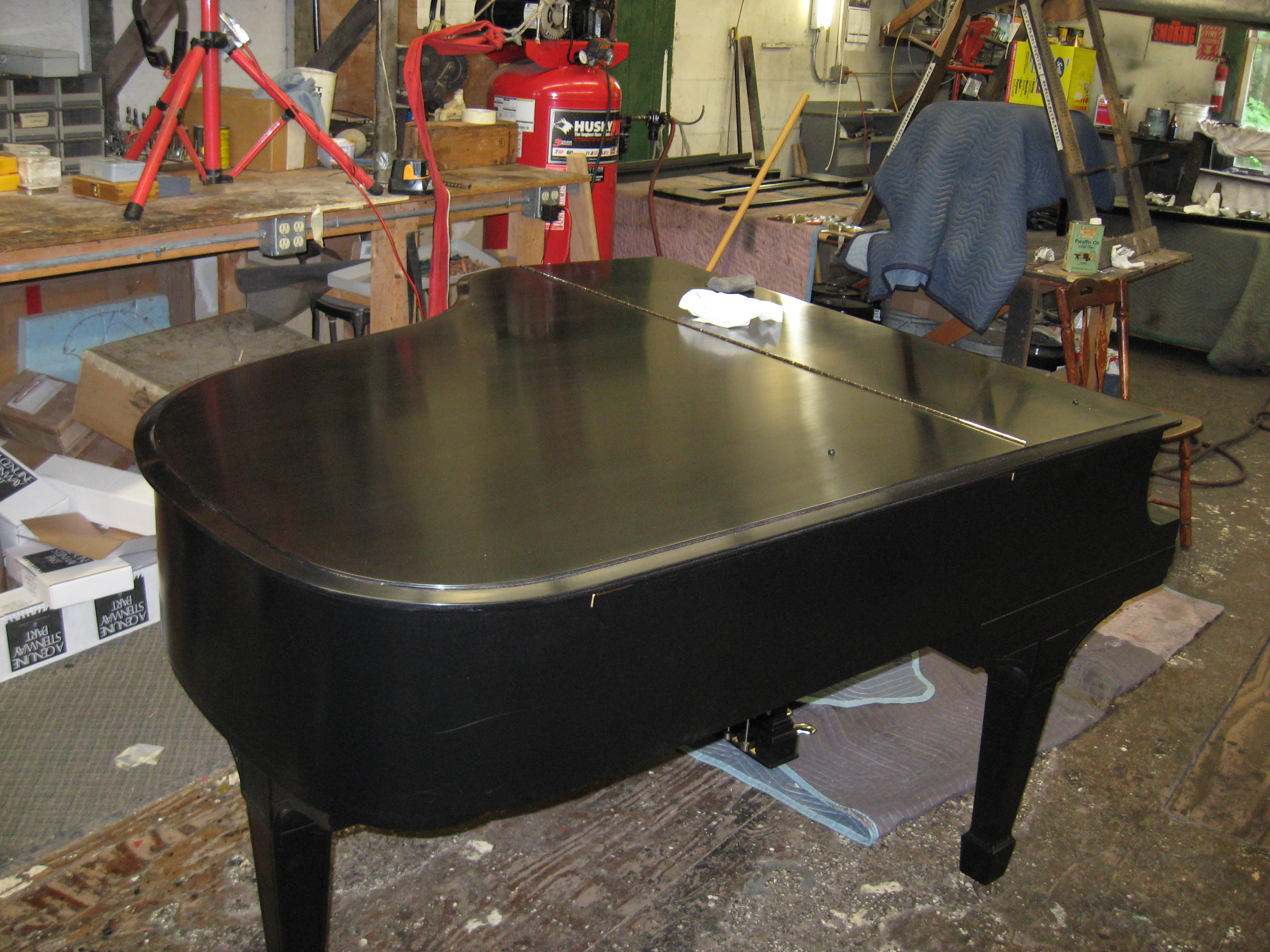 davispianoshop baby grand