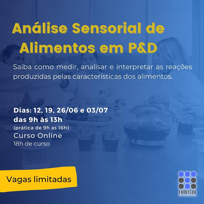 Curso de Análise Sensorial de Alimentos em P&D