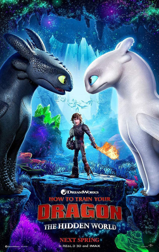 How to Train Your Dragon - Hidden World.