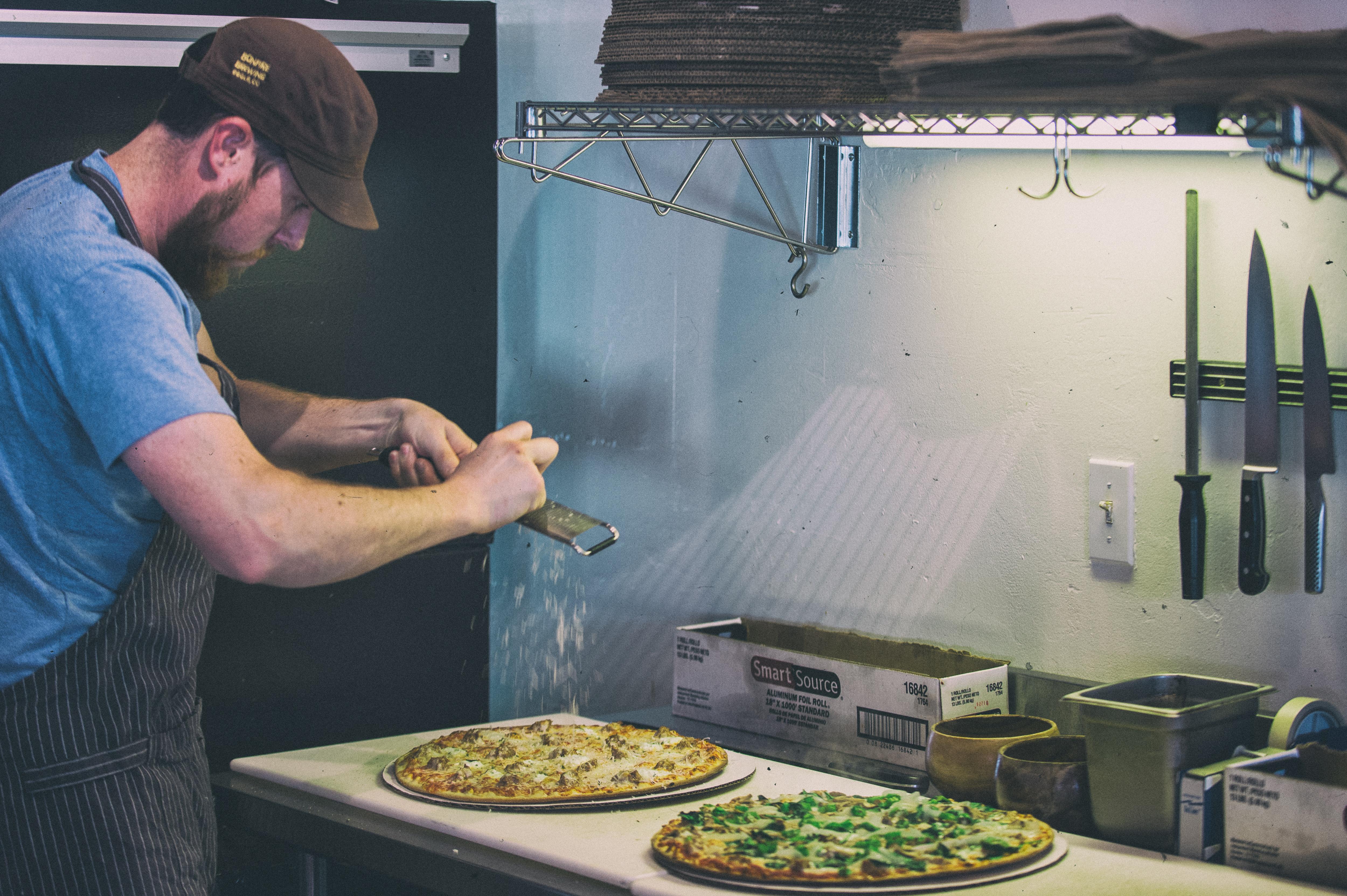 Fresh Reggiano on every pizza