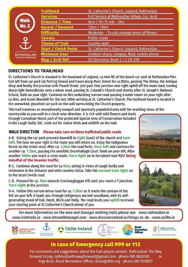Rathmullan Keranstown road trail route c