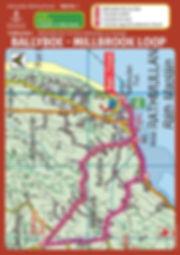 Ballyboe Millbrook road trail route card