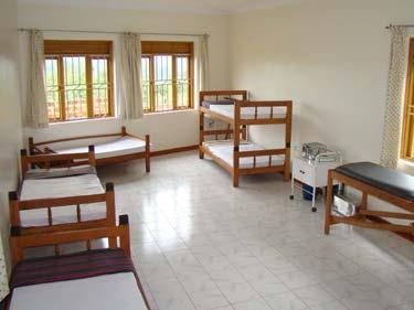 Betten im Krankenzimmer