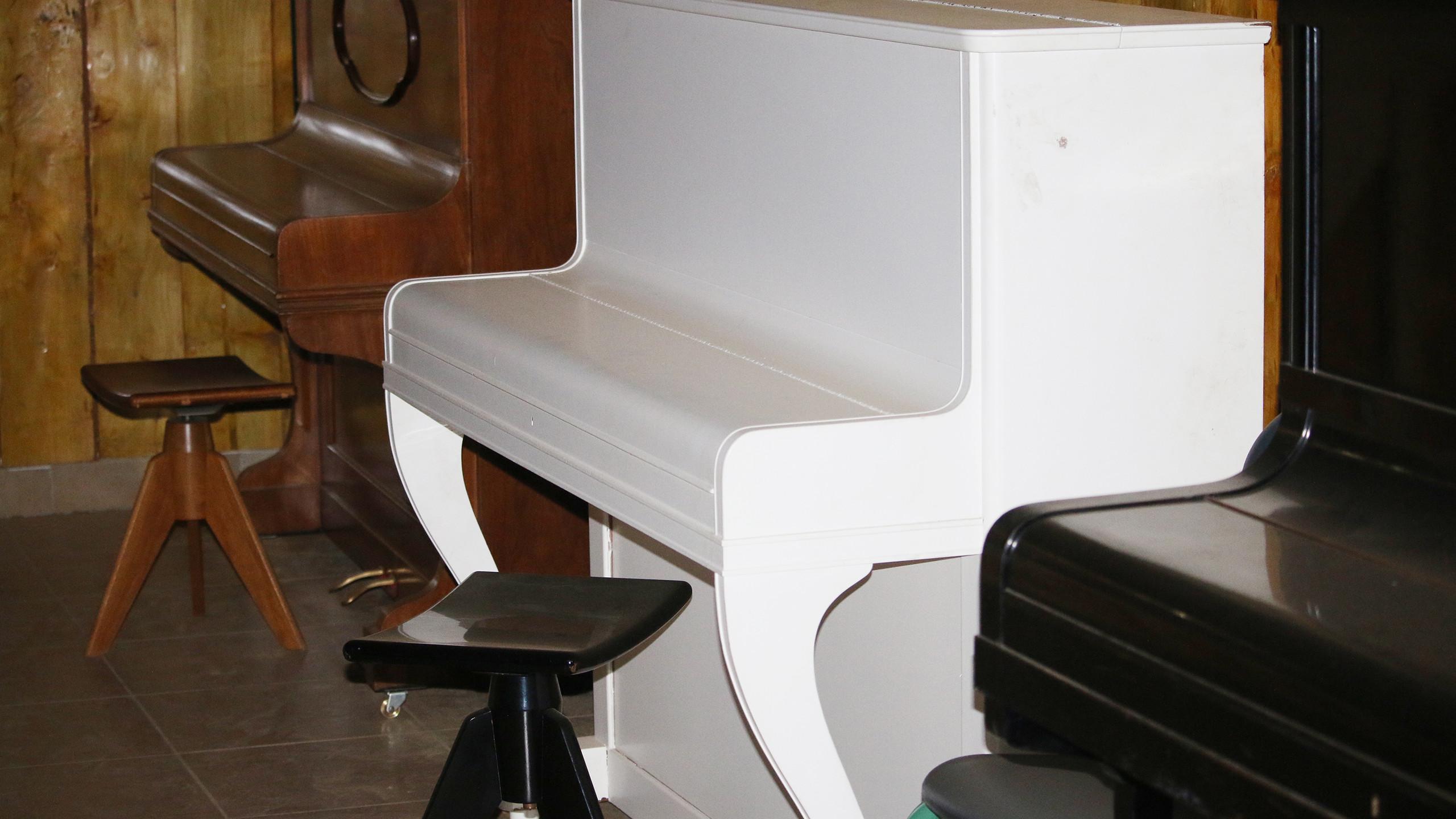 Die tollen geschenkten Klaviere