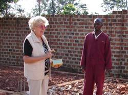 Grundsteinlegung für ein neues Kinderhaus