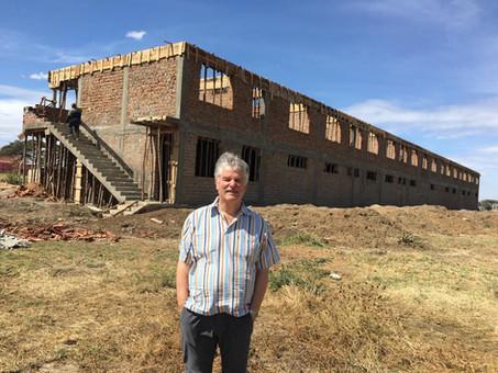 Aktuelles Bauprojekt in Karamoja: Internat für 300 Kindergartenkinder