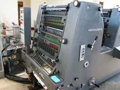 Die neue Druckmaschine