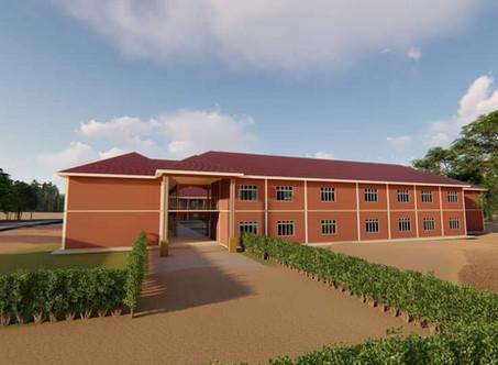 Grundschule für Karamoja im Bau