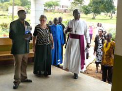 Besuch von Bishop Paul in Mukono