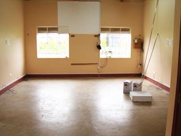 Der Raum ist leer...