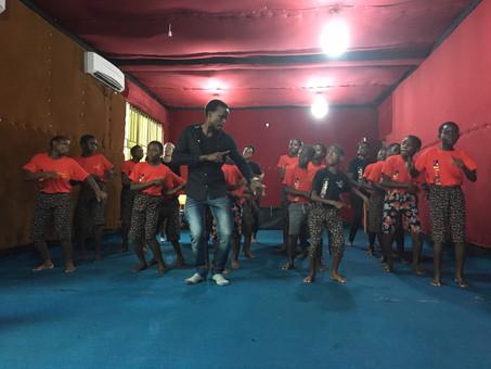 Der Vision Choir ist fleißig am Trainieren